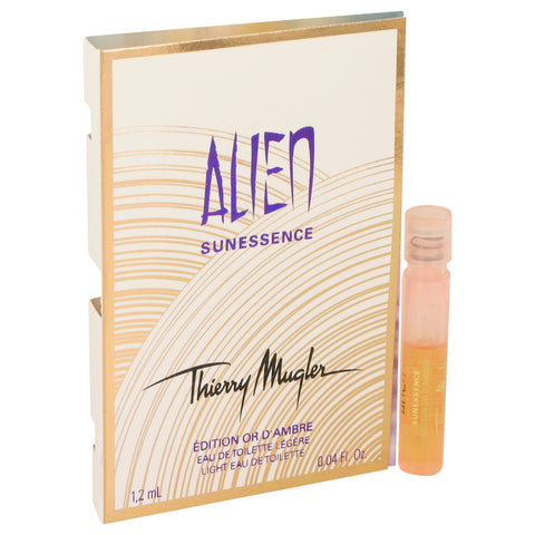 Vial (Sample) .04 oz, Alien Sunessence Or D`ambre by Thierry Mugler
