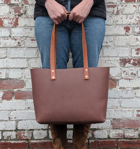 Fawcett Medium Tote - Louisville Hide & Co.