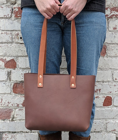 Fawcett Small Tote - Louisville Hide & Co.