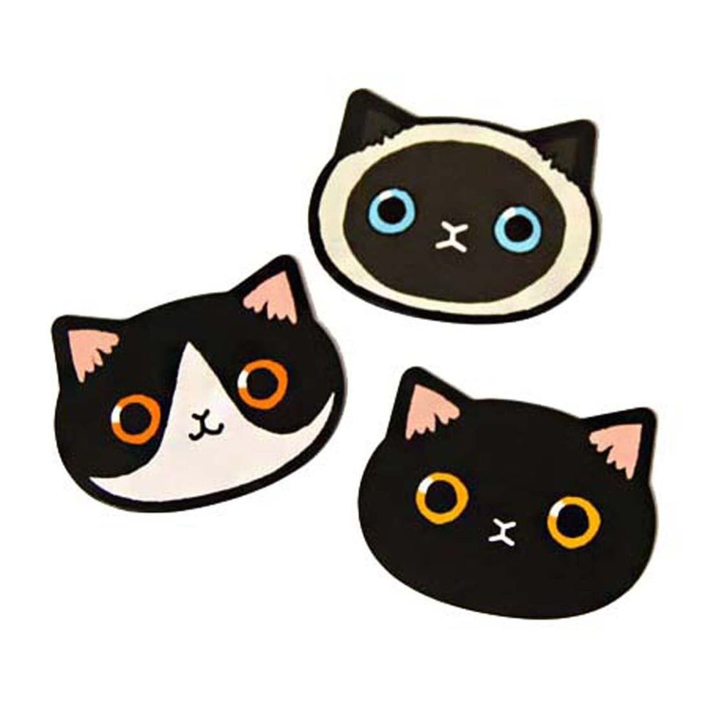 Adorable Kitty Cat Face Shaped Pocket Hand Held Mirror for Cat Lovers | DOTOLY