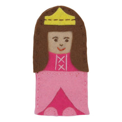 Finger Puppet Princess Felt Appliqu?® Craft Kit Embellishment Needlecraft Kits - Hobby & Crafts
