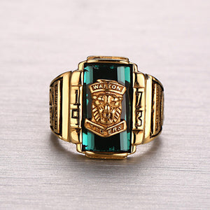 Conquering Lion Gold Ring