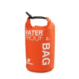 Portable Water Bottle Dry Bag | Red