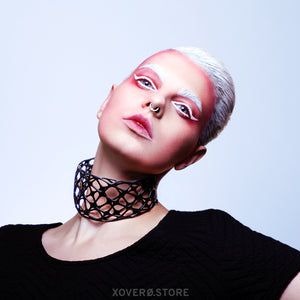 MATRIX - 3d Printed Choker - Nylon
