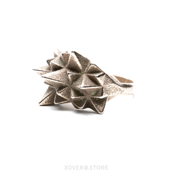 STELLAMAX - 3d Printed Ring - Steel
