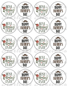 Fathers Day/Best Mommy Ever PDF tags