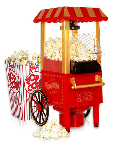 TRADITIONAL CARNIVAL CART POPCORN MAKER