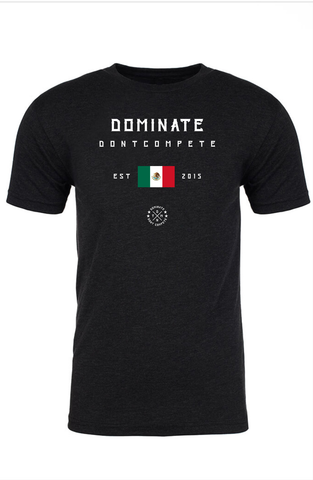 DOMINATE TEE Black Mexico