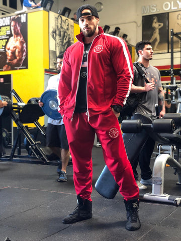 Classic Track Suit / Red
