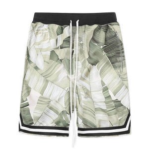 Floral Mesh Shorts S2 - Palm - Insurgence Wear - Affordable Streetwear Essentials