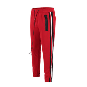 Retro Trackpants S4 - Red - Insurgence Wear - Affordable Streetwear Essentials