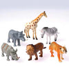 Wild Animals - 4 Inch (One dozen) - Toys