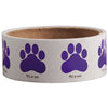 Paw Print Stickers-Purple, 100 per roll - School Stuff