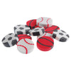 Mini Sport Erasers (144 pieces) - Sports