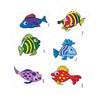 Fish Stickers with Eyes - 72 Pieces - School Stuff