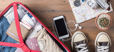 A traveller's guide to packing smart!