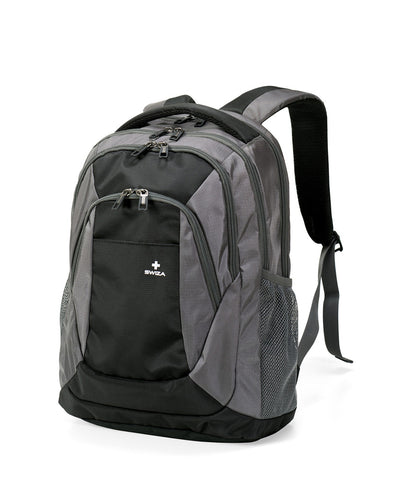 AULUS, Backpack, grey / black. - Swiza