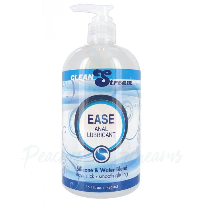 Clean Stream Ease Silicone and Water Hybrid Anal Sex Lube - Necronomicox