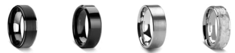 Your Guide to the Top Alternative Metals for Mens Wedding Rings [BEST 3]