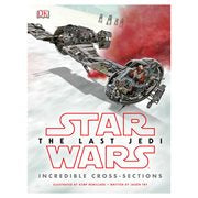 Star Wars: The Last Jedi Incredible Cross-Sections Hardcover Book