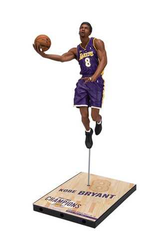 NBA Kobe Bryant 2001 - (Road purple #8 jersey) Championship Series Action Figure