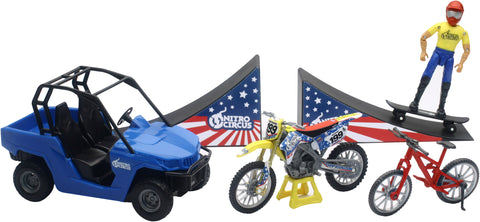 REPLICA NITRO CIRCUS PLAY SET ASSORTED NITRO CIRCUS PLAY SET New-Ray Toys 67685