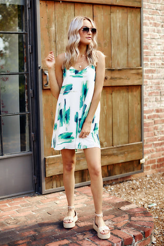 Winnie Dress - Green