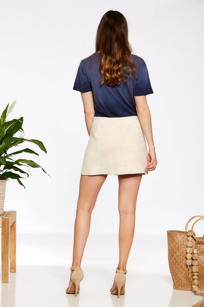 Asher Collection - Barfield Skirt - Taupe