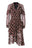 Womens Multi Tibetan Motif Lace Dress
