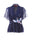 Womens Navy Navy Double Flying Crane Top