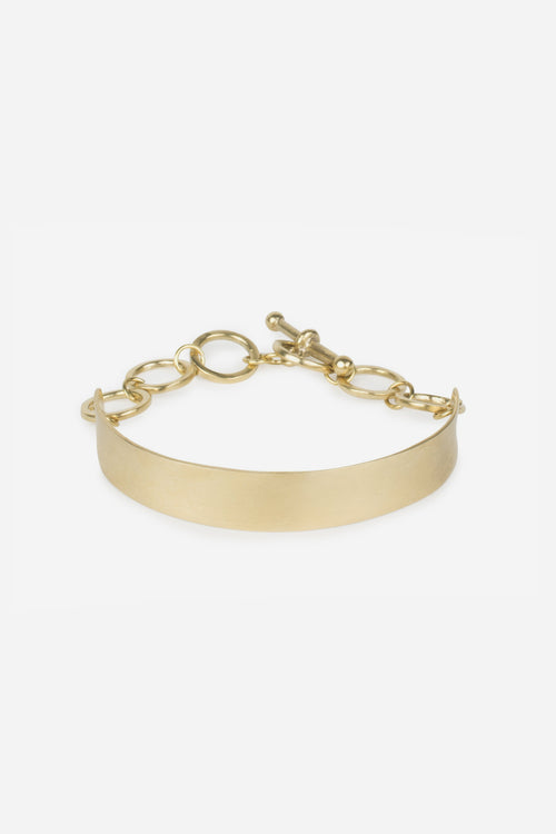 Naked Toggle Chain Bracelet