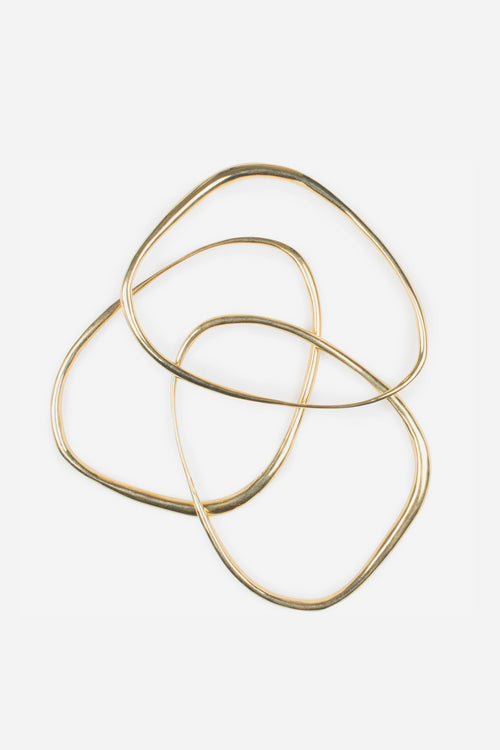 Oblique Bangle Thin
