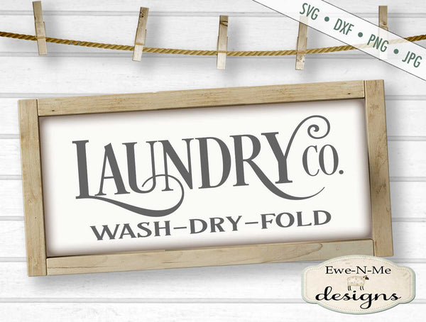 Laundry Co - Laundry Room - SVG