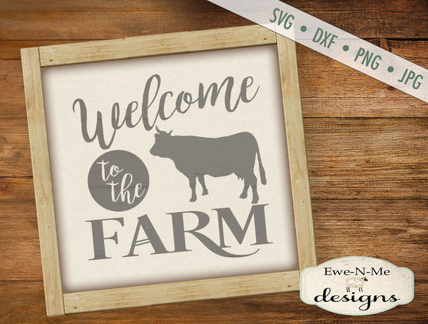 Welcome to the Farm - SVG