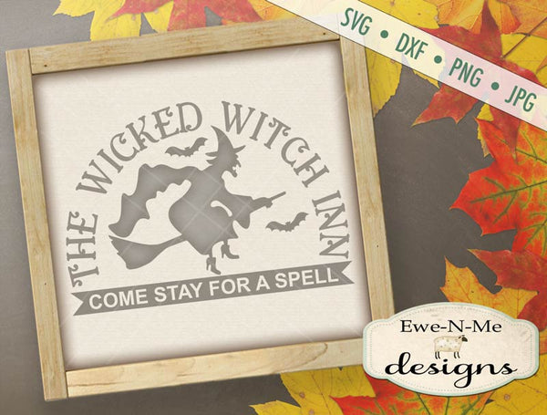 Wicked Witch Inn - SVG