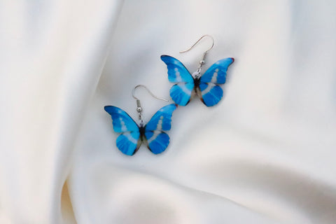 Acrylic Butterfly Earrings