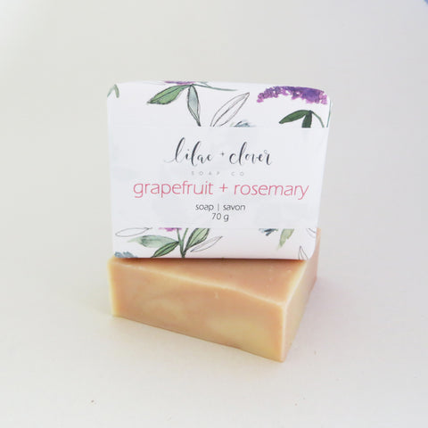 Grapefruit + Rosemary Bar