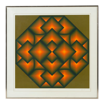 'Octagon V' Serigraph - Wall Decorations - Jurgen Peters WYETH