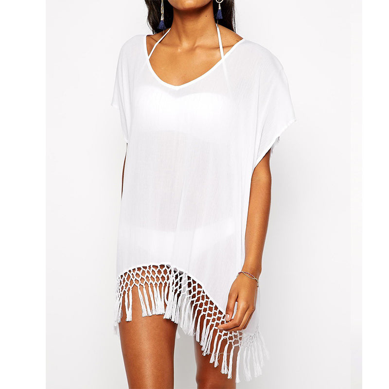 White Beach Kaftan