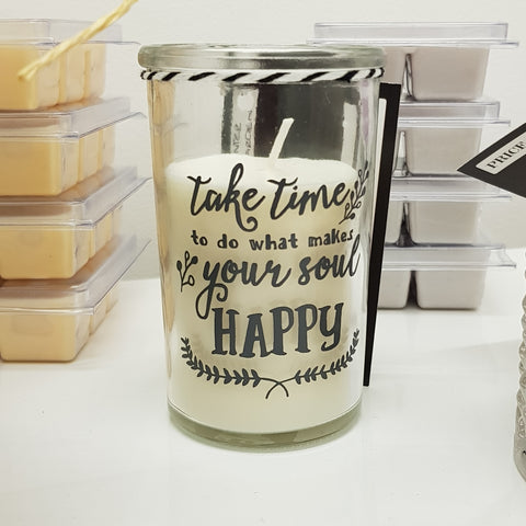 Take time candle