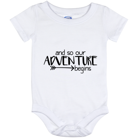 Onesie White-and so our adventure begins