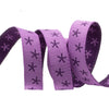 "Stars on Purple - 3/8"" - Sue Spargo - by the yard"