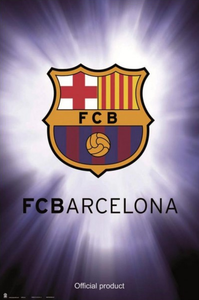 Barcelona Club Emblem - Poster - egoamo.co.za
