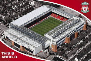 Liverpool - This is Anfield Stadium Poster - egoamo.co.za
