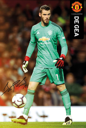 David De Gea - Manchester United Poster - egoamo.co.za