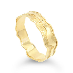 Island Bound 9ct Gold Pelsaert Bangle