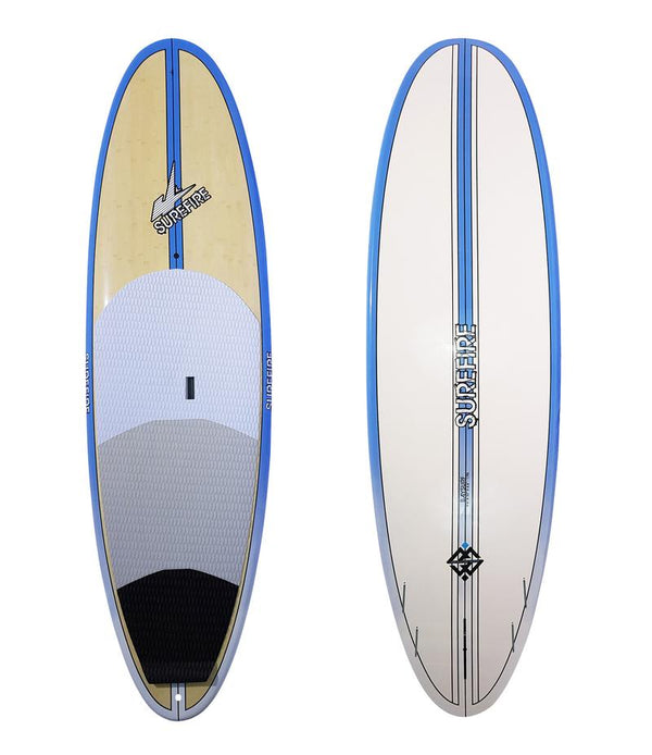 Baysurf - Blue Rails - SUP Package - Surefire Boards