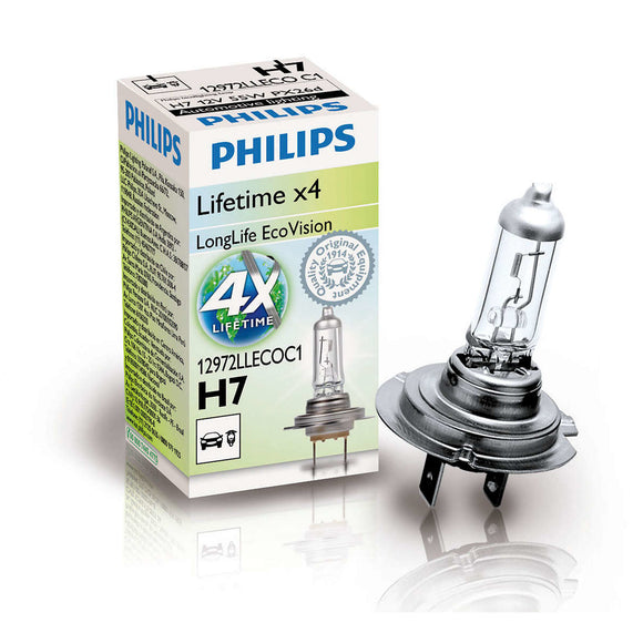 Philips H7 12V Longlife Ecovis