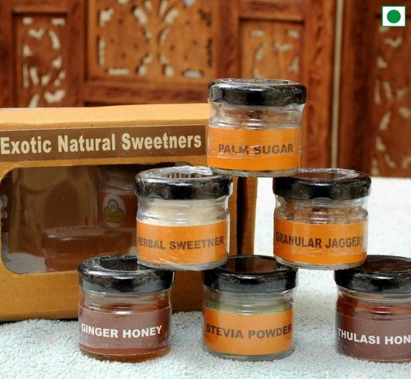 Natural Exotic Sweeteners (6 bottles)