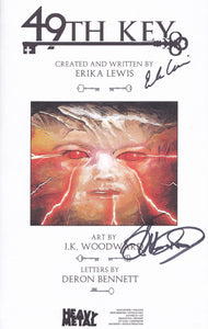 49th Key (Signed by Erika Lewis and JK Woodward)